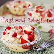 truskawski zabaglione