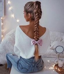 Śliczne fryzury dla długich...