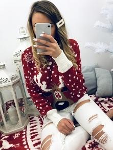 Świąteczny sweterek <3