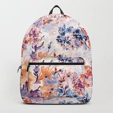 Plecak ze wzorem Floral wat...