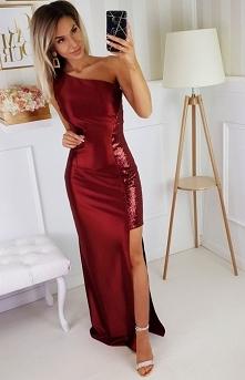 Bicotone wieczorowa sukienk...