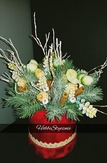 Flower Box Świąteczny :)