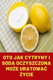 Oto jak cytryny i soda oczy...