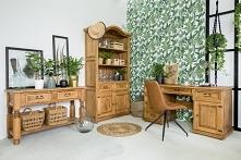 drewniane meble biurowe wyk...