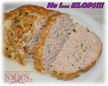 Pieczeń z mięsa mielonego -...