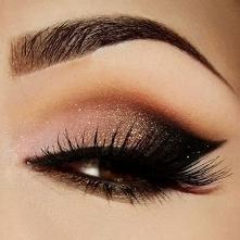 piękny makijaż oczka