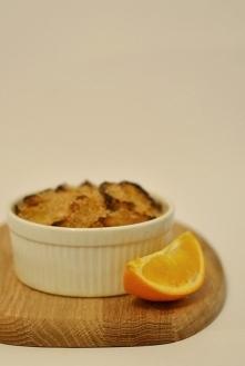 Pomarańczowy pudding chlebo...