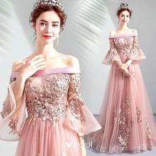 Elegancka Cukierki Różowy S...