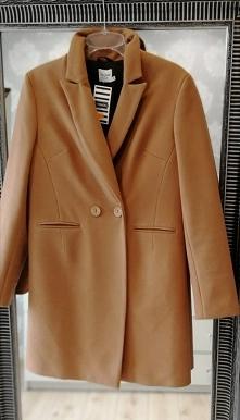 Zimowy płaszcz camel...Klik...