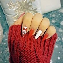 Pomysł na świąteczne mani.