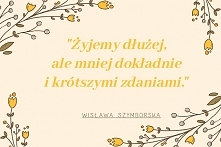 Poezja Wisławy Szymborskiej