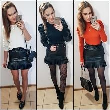czarna spódniczka :)