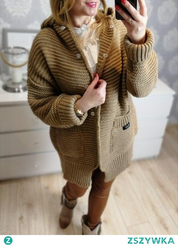 Sweter camel...Kliknij w zdjęcie by przejść do produktu.