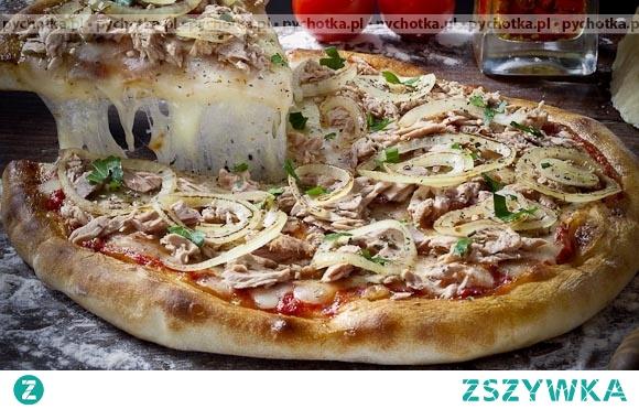 Pizza z grzybami Kingi