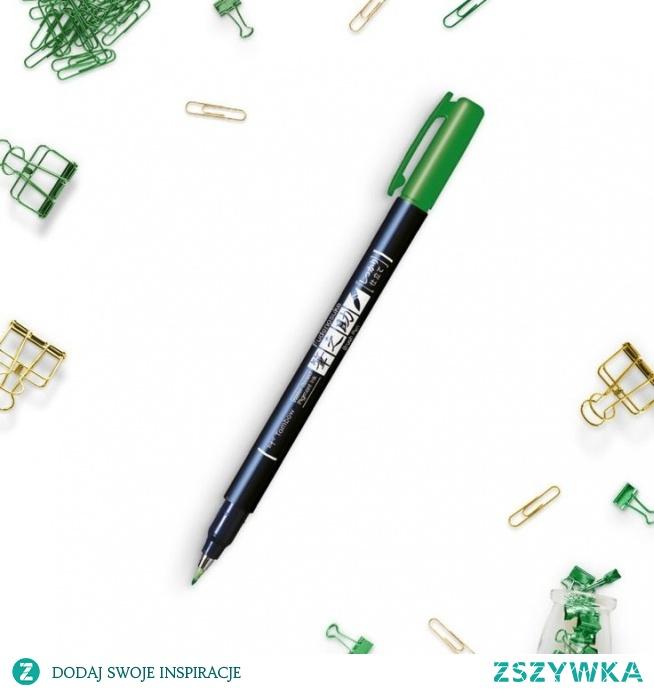 Brush pen zielony