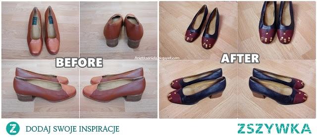 jak pomalować buty