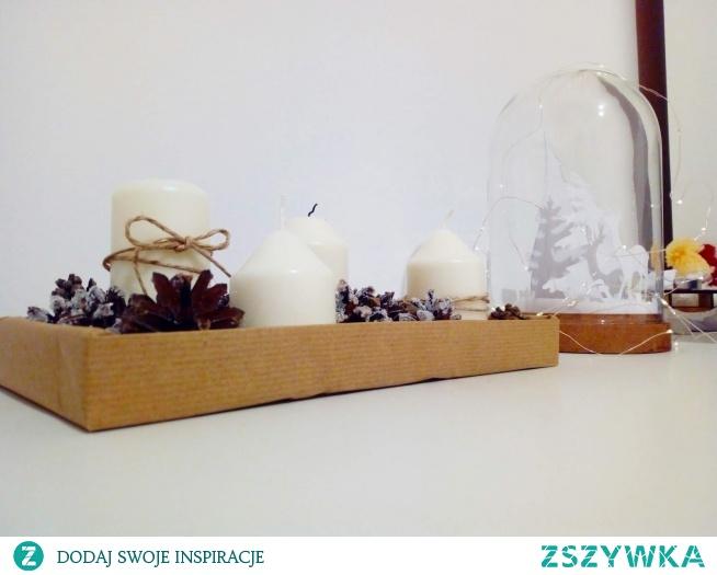 9 pomysłów na zimowe i świąteczne dekoracje (klik) :)