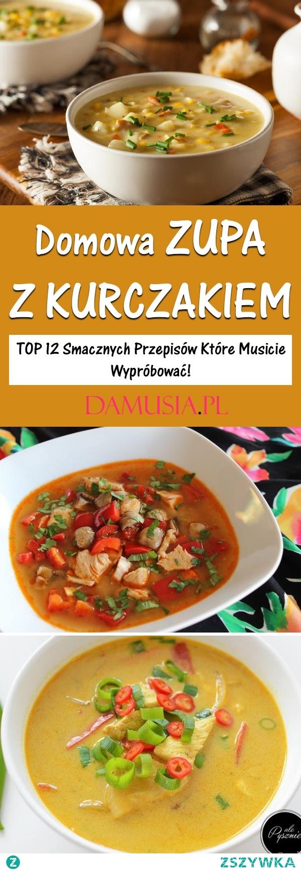 Sycąca Zupa z Kurczakiem – TOP 12 Smacznych Przepisów Które Musicie Wypróbować!