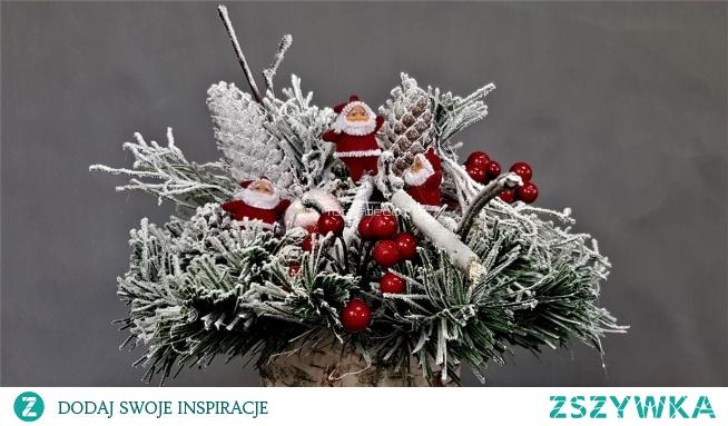 Piękne dekoracje bożonarodzeniowe, dekoracje świąteczne