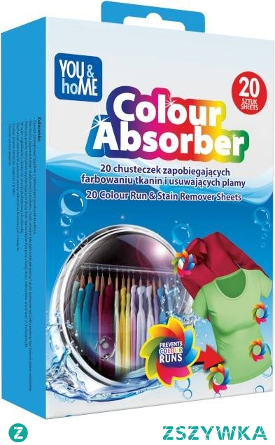 YOU&HOME Colur Absorber Chusteczki absorbujące