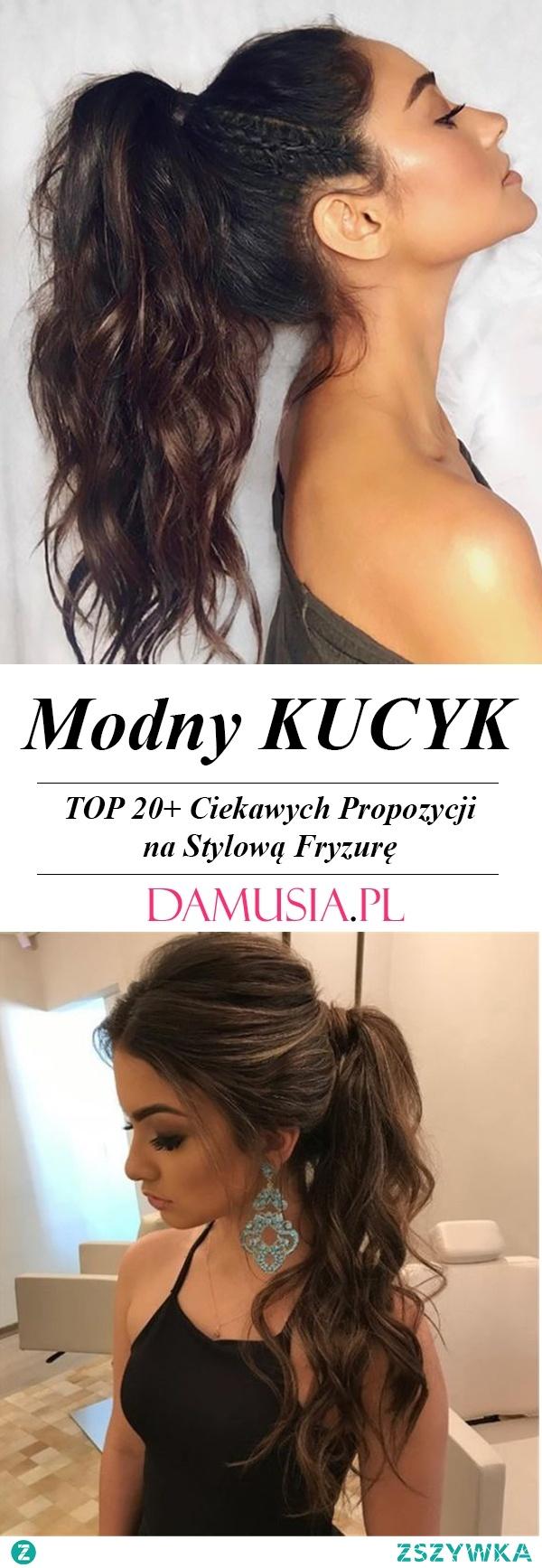 Modny Kucyk – TOP 20+ Ciekawych Propozycji na Stylową Fryzurę