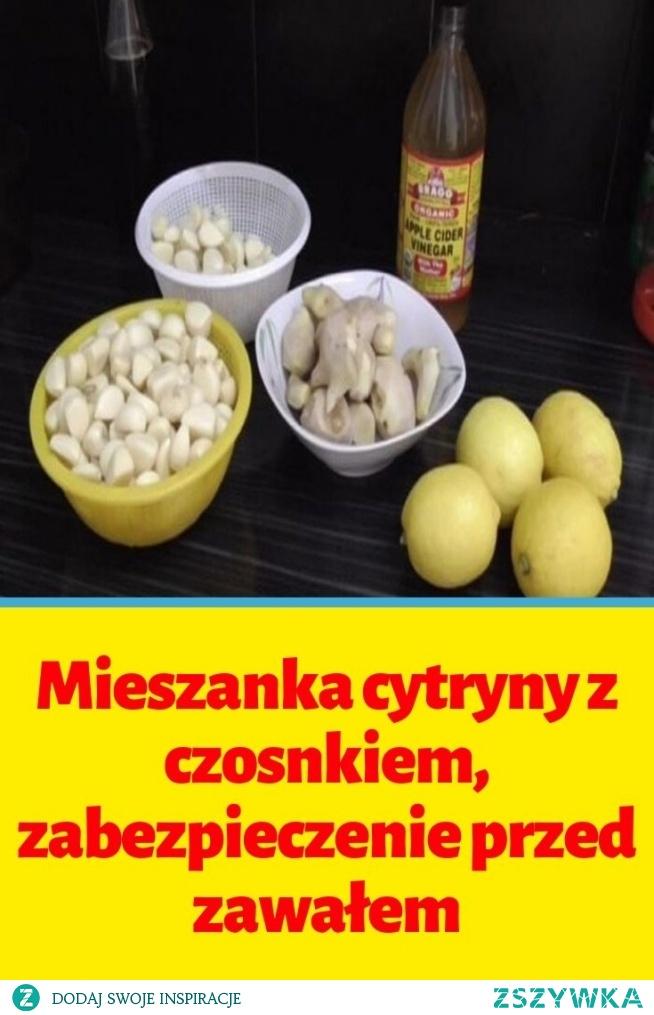 Mieszanka cytryny z czosnkiem, zabezpieczenie przed zawałem