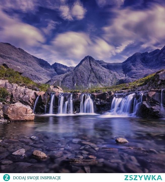 Wyspa w Szkocji, Skye, puzzle krajobrazy