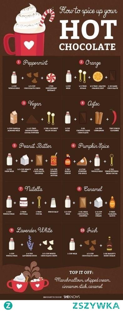 Przepisy na pyszną czekoladę :)