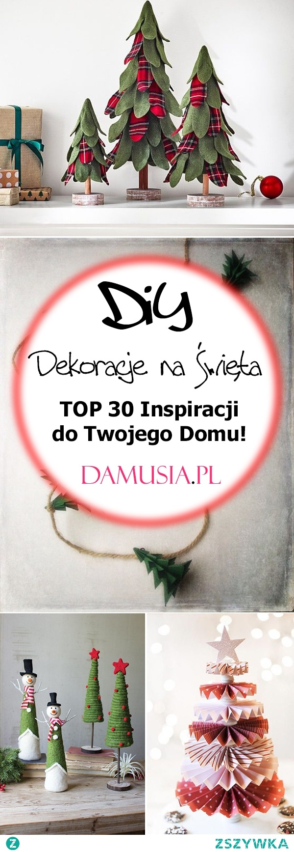 Świąteczne Dekoracje DIY – TOP 30 Inspiracji na Święta do Twojego Domu!