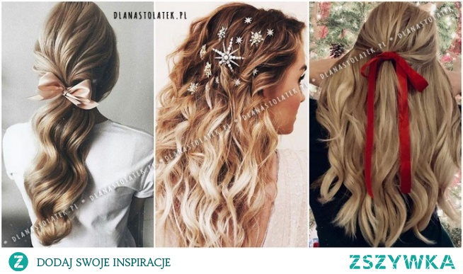 Piękne fryzury idealne na Święta