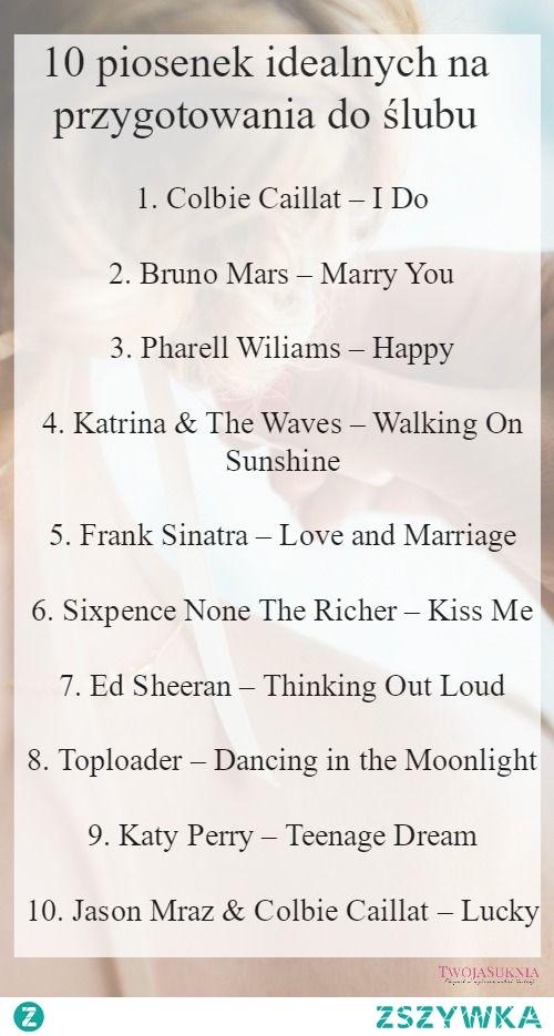 Lista piosenek na odstresowanie.