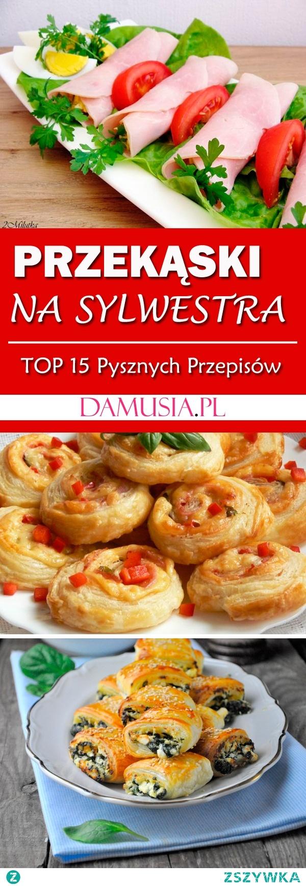 Sylwestrowe Przekąski – TOP 15 Przepisów na Pyszne Przekąski na Sylwestra