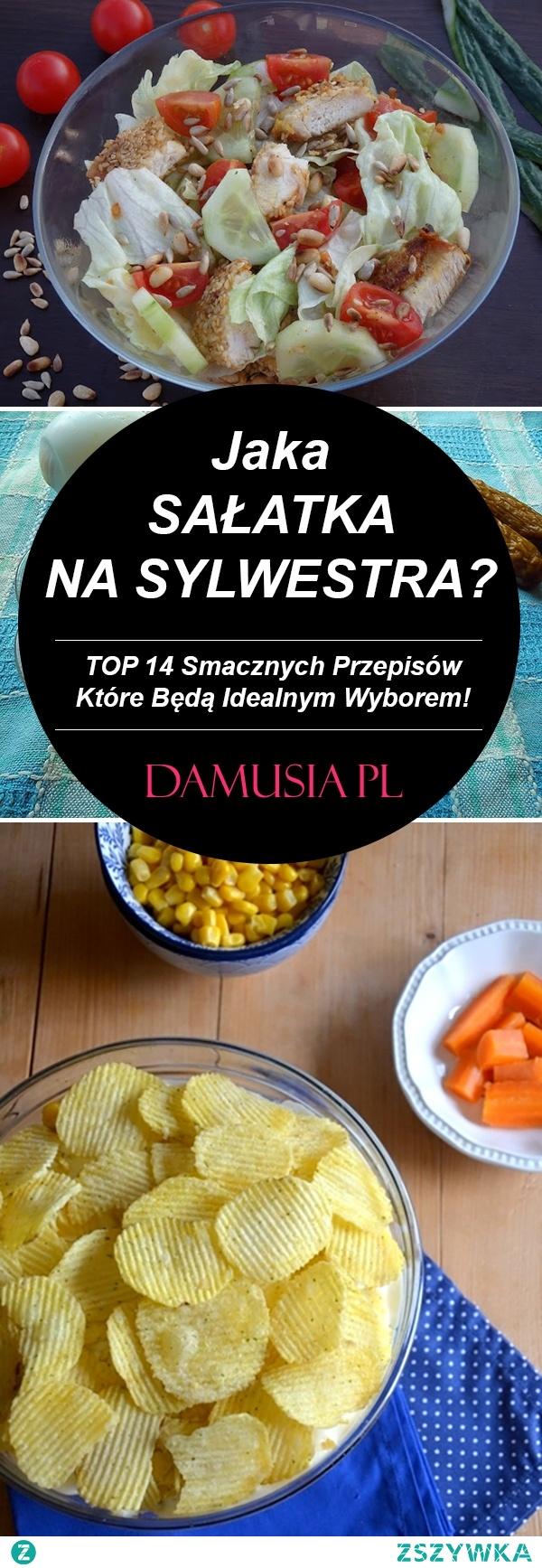 Jaka Sałatka na Sylwestra? – TOP 14 Smacznych Przepisów na Sylwestrowe Sałatki