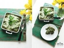 Zapiekanka z kaszy gryczanej i szpinaku