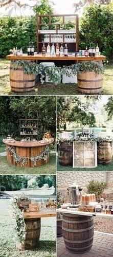 pomysły na ślub rustykalny