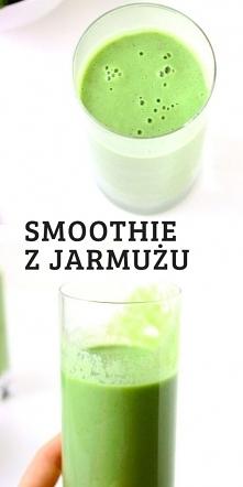 Zdrowe, witaminowe smoothie...