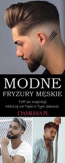Modne Fryzury Męskie 2020 –...
