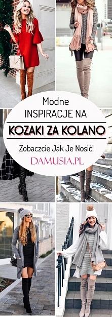 Najmodniejsze w Tym Sezonie Wysokie Kozaki za Kolano: Zobaczcie Jak Je Nosić!