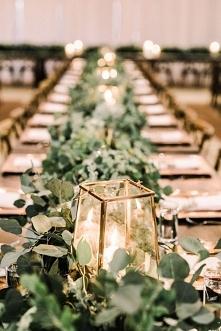 rustykalne przybranie stołu