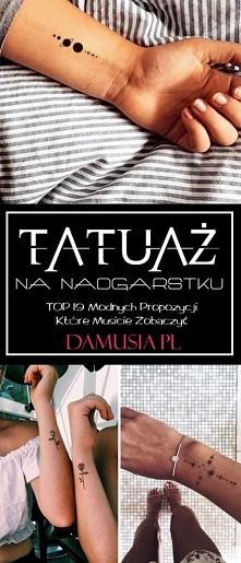 Tatuaż na Nadgarstku – TOP ...