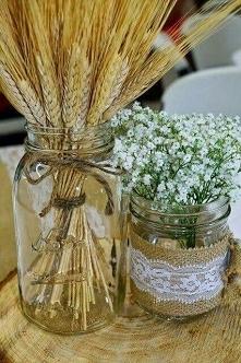 ozdoby na stoły weselne i nie tylko :)