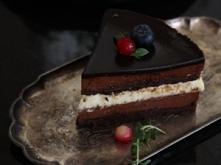 Tort czekoladowo - cytrynowy