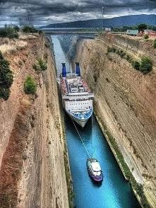 #kanał #koryncki #Grecja #s...