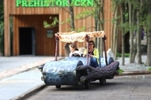 Pojazdy Flintstonów. Mega z...