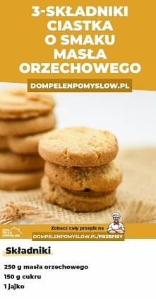 3-SKŁADNIKOWE ciasteczka o ...