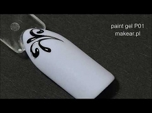 Ornamenty, paint gel P01 ma...