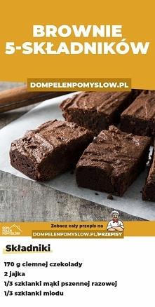 Przepis na brownie z 5 SKŁA...