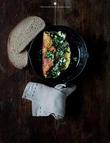 Zielony omlet