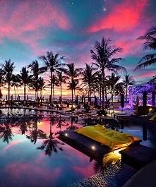 Bajeczny krajobraz z Bali