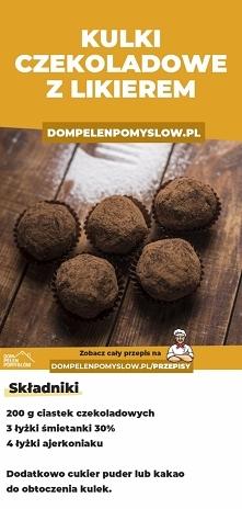 3-składnikowe kulki czekola...